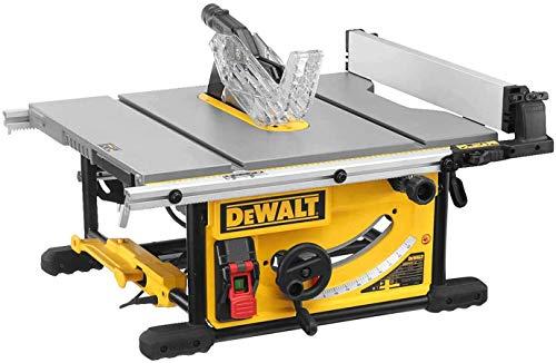 DeWALT DWE7492-QS Tischkreissaege 250 mm, Schwarz/Gelb